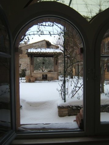 il pozzo con la neve