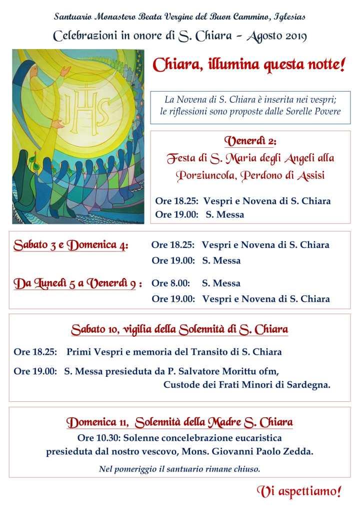 invito S. Chiara 2019-1