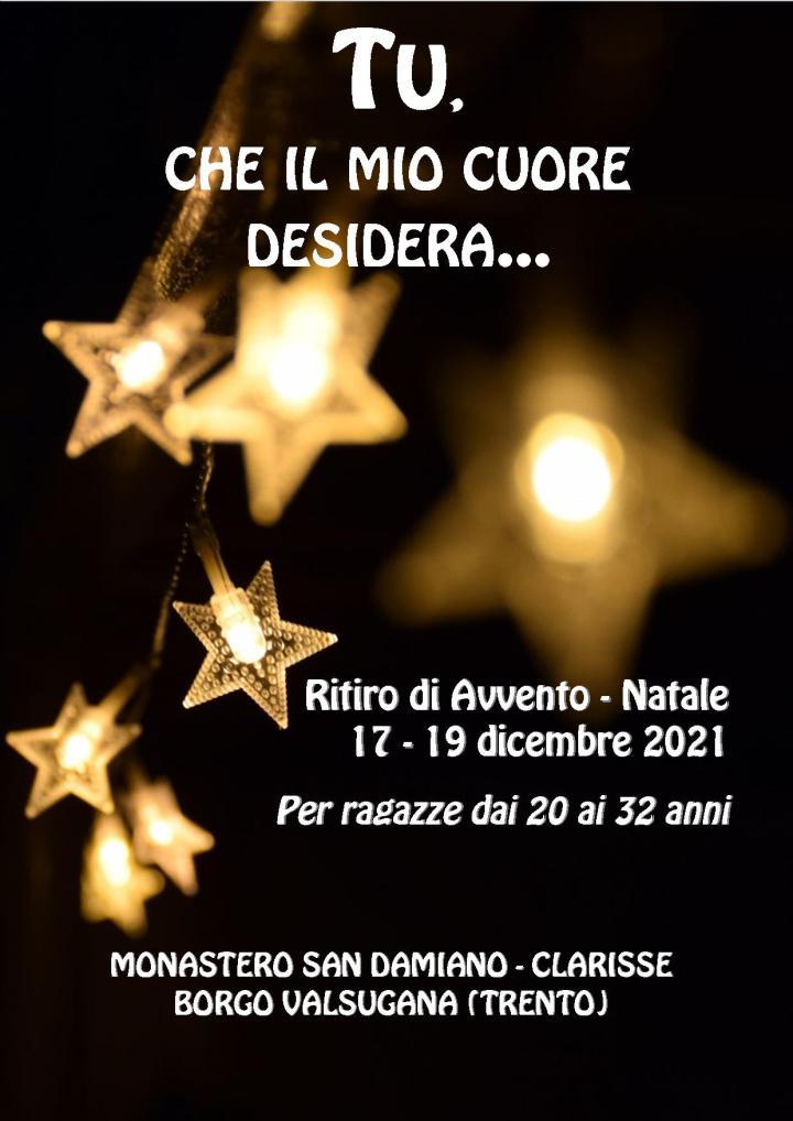 Ritiro Avvento-Natale Clarisse BorgoValsugana